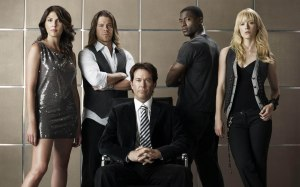 Gina Bellman, Christian Kane, Timothy Hutton, Aldis Hodge and Beth Riesgraf