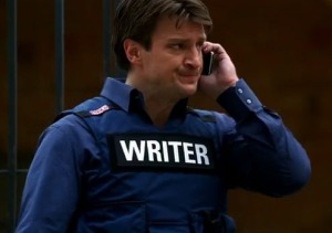 Ahh, irreverent Nathan Fillion. I mean, Richard Castle. *cough*