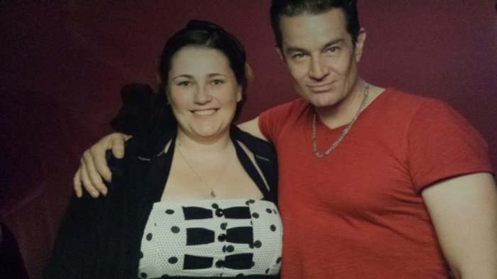 Me & James Marsters (Spike from Buffy) in 2011.